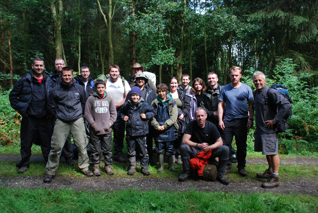 Weekend Bushcraft Level 2 Course NCFE IIQ Accredited