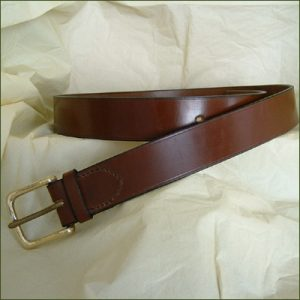 Bridle Butt Belts - Conker Brown