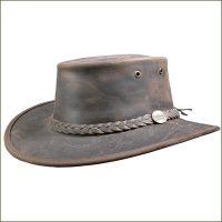 Foldaway Bronco Barmah Hat