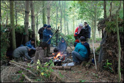 Wilderness survival course new england university
