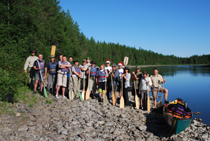 Swedish Canoeing Expedition 2015