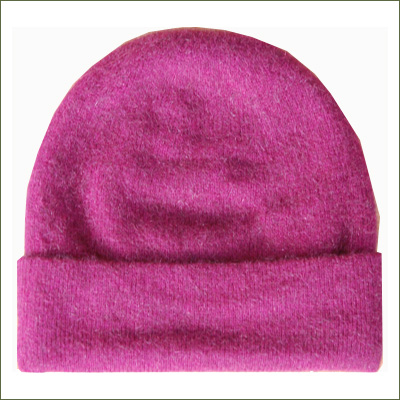 Possum Beanie Hat - Berry