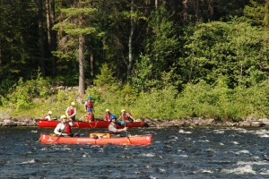 Sweden Canoeing Expedition 2013
