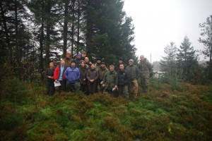 The 2013 Wayfarer's Level 3 Course.  Applying the skills and knowledge from Level 2.  Well done one and all.