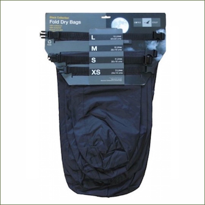 Exped Black Dry Bags (Pack of 4)