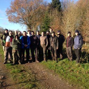 November 2014 Level 2 Course in Staffordshire