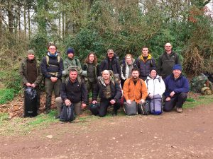 Level 2 Training Course - it was a pleasure to spend time in the woods with you all.