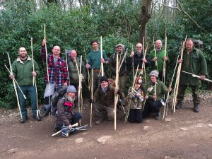 Level 3 Primitive Crafts Course - superb bows, arrows, darts and atlatls.