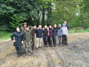 Level 2 Training Course - Never seen a group of people smiling so much when it is raining.