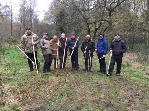 November 2016 Primitive Weapons Course in Staffordshire - Bows, Arrows and lots of Laughing!
